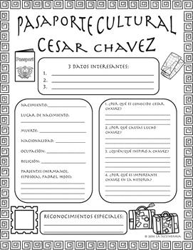Pasaporte Cultural - Cesar Chavez