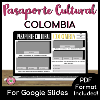 Pasaporte Cultural - Colombia