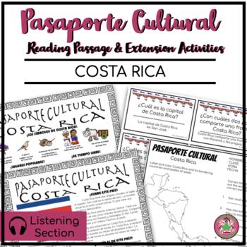 Pasaporte Cultural - Costa Rica Reader