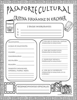 Pasaporte Cultural - Cristina Fernández de Kirchner