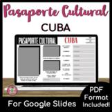Pasaporte Cultural - Cuba