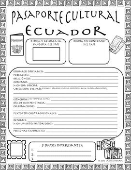 Pasaporte Cultural - Ecuador