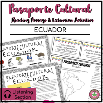 Pasaporte Cultural - Ecuador Reader