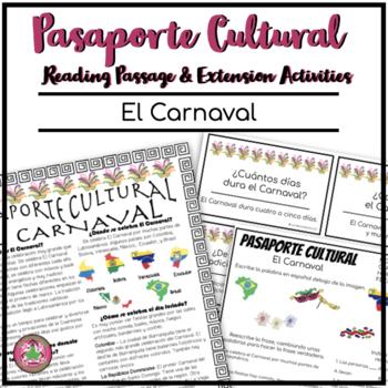 Pasaporte Cultural El Carnaval Reader