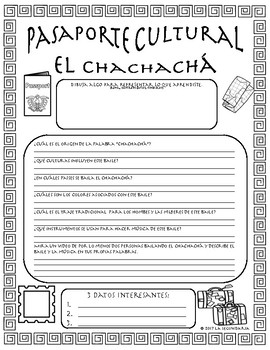 Pasaporte Cultural - El chachachá