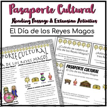 Pasaporte Cultural El Día de Los Reyes Magos Reader