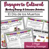 Pasaporte Cultural El Día de los Muertos Reader