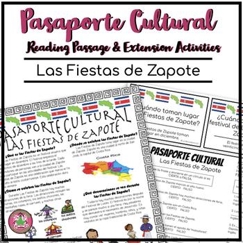 Pasaporte Cultural El Festival Zapote Reader