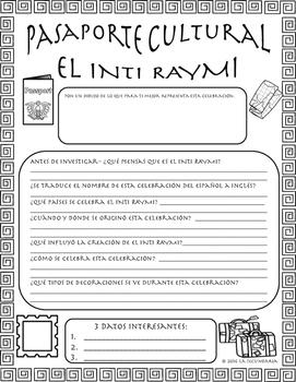 Pasaporte Cultural - El Inti Raymi
