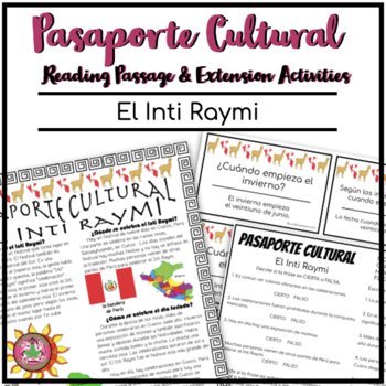 Pasaporte Cultural El Inti Raymi Reader
