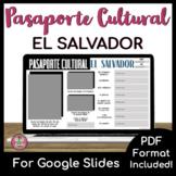 Pasaporte Cultural - El Salvador