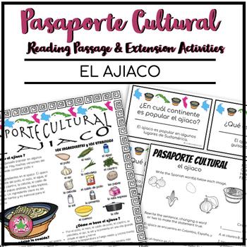 Pasaporte Cultural El ajiaco Reader