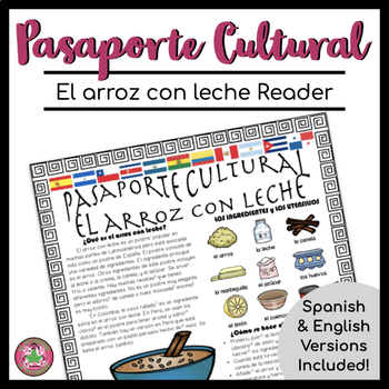 Pasaporte Cultural El arroz con leche Reader