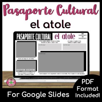 Pasaporte Cultural - El atole