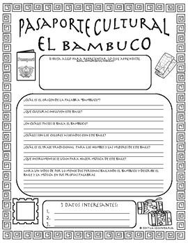 Pasaporte Cultural - El bambuco