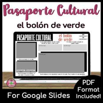 Pasaporte Cultural - El bolón de verde