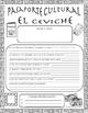 Pasaporte Cultural - El ceviche