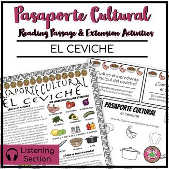 Pasaporte Cultural El ceviche Reader