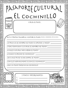 Pasaporte Cultural - El cochinillo
