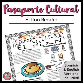 Pasaporte Cultural El flan Reader