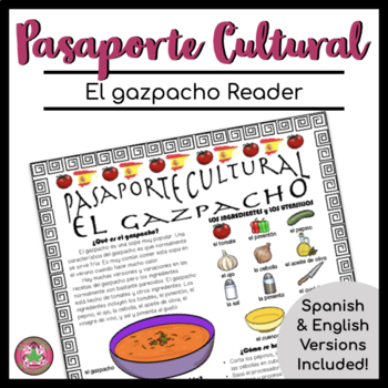 Pasaporte Cultural El gazpacho Reader