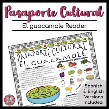 Pasaporte Cultural El guacamole Reader