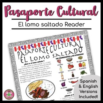 Pasaporte Cultural El lomo saltado Reader