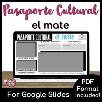 Pasaporte Cultural - El mate