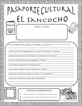 Pasaporte Cultural - El sancocho