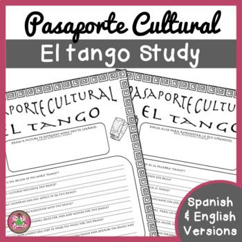 Pasaporte Cultural - El tango