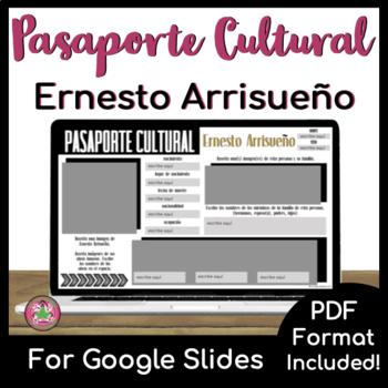 Pasaporte Cultural - Ernesto Arrisueño
