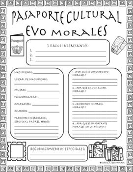 Pasaporte Cultural - Evo Morales