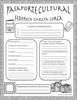 Pasaporte Cultural - Federico García Lorca