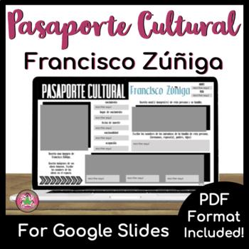 Pasaporte Cultural - Francisco Zúñiga