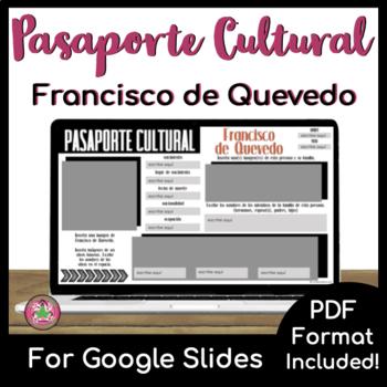 Pasaporte Cultural - Francisco de Quevedo