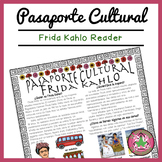 Pasaporte Cultural Frida Kahlo Reader