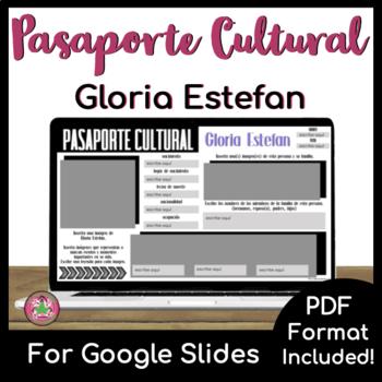 Pasaporte Cultural - Gloria Estefan