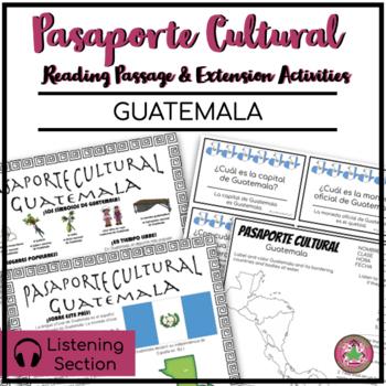 Pasaporte Cultural - Guatemala Reader