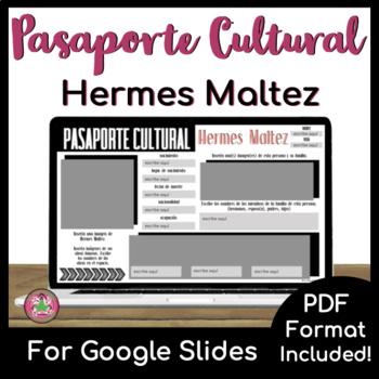 Pasaporte Cultural - Hermes Maltez