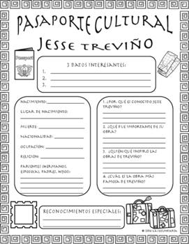 Pasaporte Cultural - Jesse Treviño
