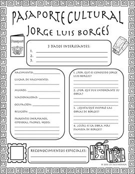 Pasaporte Cultural - Jorge Luis Borges