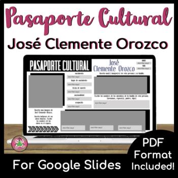 Pasaporte Cultural - José Clemente Orozco