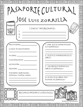 Pasaporte Cultural - José Luis Zorrilla