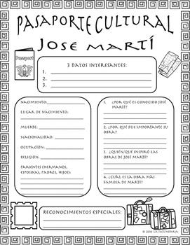 Pasaporte Cultural - José Martí