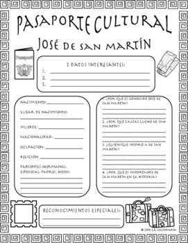 Pasaporte Cultural - José de San Martín