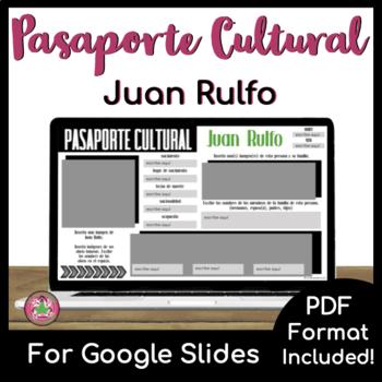 Pasaporte Cultural - Juan Rulfo