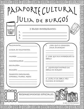 Pasaporte Cultural - Julia de Burgos