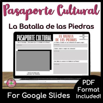 Pasaporte Cultural - La Batalla de las Piedras