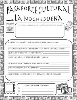 Pasaporte Cultural - La Nochebuena