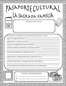 Pasaporte Cultural - La Sagrada Familia
